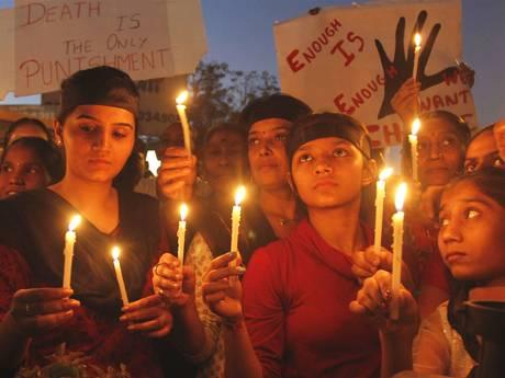Vigil for gang rape victim