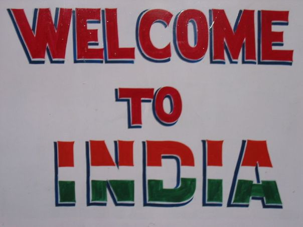 Welcome to India!