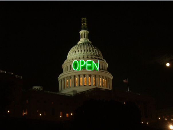 US Government - Open for Business Again