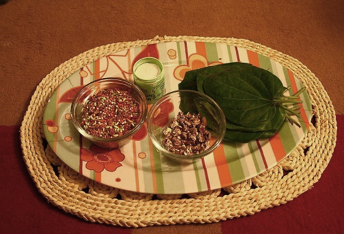 paan ingredients