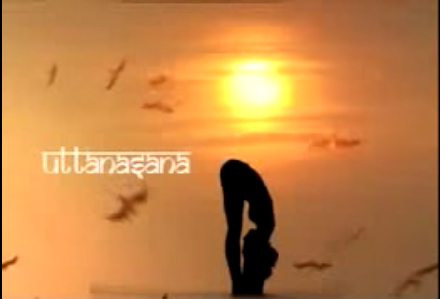 yoga pose video