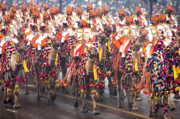 Impressive & Unique - Camel contingent by Border Security Force, India Republic Day 2015