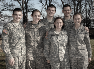 Siblings by the US Army