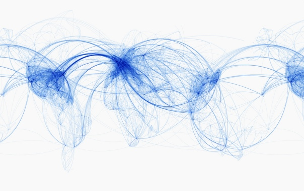 world airline routes