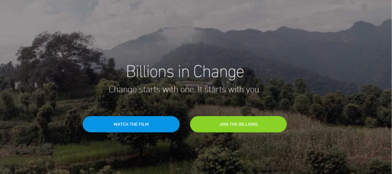 billions in change website