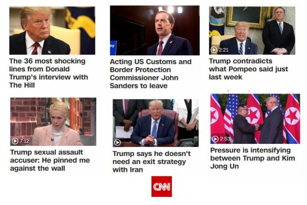Sampler of News I Missed Out On - CNN
